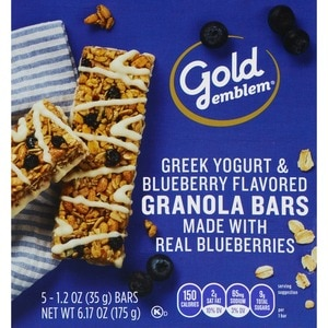 Gold Emblem Greek Yogurt & Blueberry Granola Bars