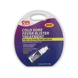 CVS Cold Sore Fever Blister Treatment