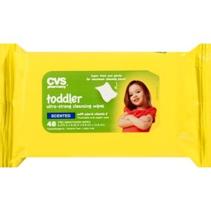 CVS Toddler Wipes Alcohol Free