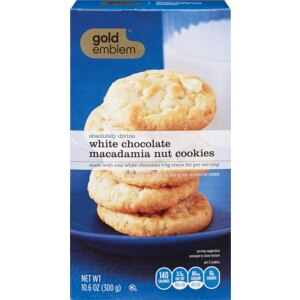 CVS Gold Emblem Absolutely Divine White Chocolate Chip Macadamia Cookies