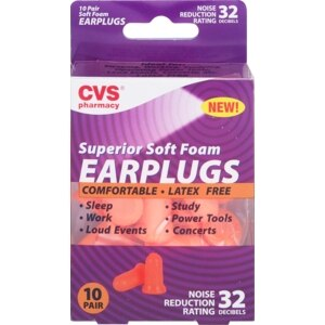 CVS Superior Soft Foam Earplugs