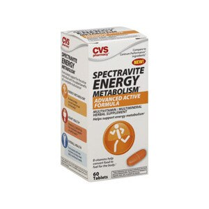 CVS Spectravite Energy Metabolism Advanced Active Formula Tablets