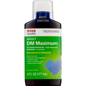 CVS Adult DM Maximum Multi-Symptom Liquid