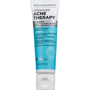 Skin + Pharmacy Advanced Acne Therapy Overnight Salicylic Acid Lotion, 1 OZ