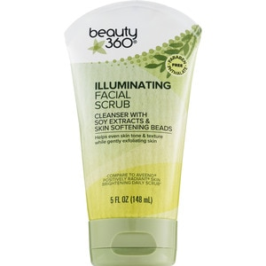 Beauty 360 Illuminating Facial Scrub, 5 OZ
