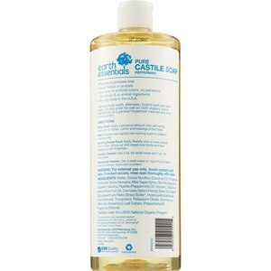 Pure Castile Soap With Peppermint, 32 OZ