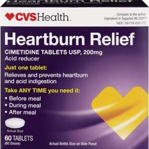 CVS Heartburn Relief Tablets