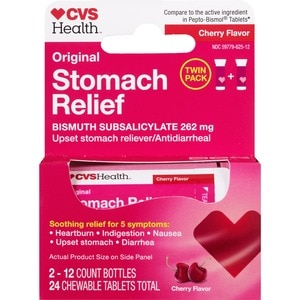 CVS Health Stomach Relief To Go, 24CT
