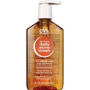 CVS Oil Free Acne Wash Value Size