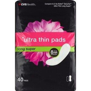 CVS Ultra Thin Pads Long