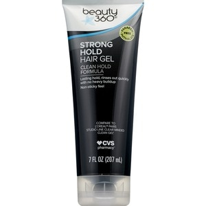 Beauty 360 Strong Hold Hair Gel Clean Hold Formula, 7 OZ
