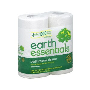 CVS Earth Essentials Bathroom Tissue 1000 Sheets 4-Pack