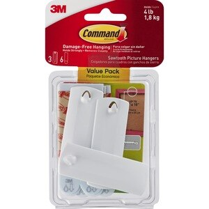 Command Sawtooth Picture Hangers