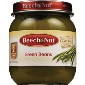 Beech-Nut Stage 2 Baby Food 6 Months+, 4 OZ