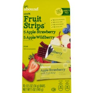 Gold Emblem Abound 100% Fruit Strips Variety Pack