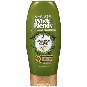 Garnier Whole Blends Replenishing Conditioner Virgin-Pressed Olive Oil & Leaf Extracts