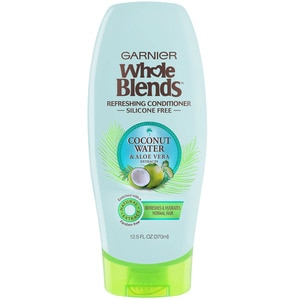 Garnier Whole Blends Hydrating Conditioner with Coconut Water & Aloe Vera Extract, 12.5 OZ