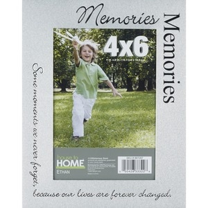 House To Home Ethan Memories 4x6 Picture Frame