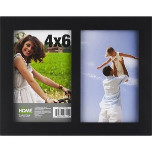 Harbortown Saratoga 4x6 2 Opening Picture Frame