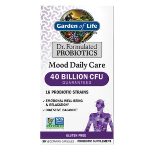 Garden of Life Dr. Formulated Probiotics Mood Daily Care, 30CT