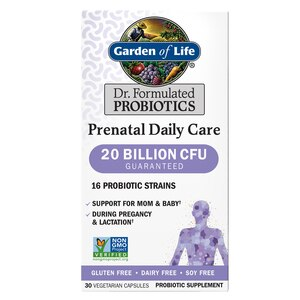 Garden of Life Dr. Formulated Probiotics Prenatal Daily Care, 30CT