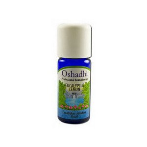 Oshadhi Essential Oil Singles Eucalyptus Citriodora, 0.33 OZ