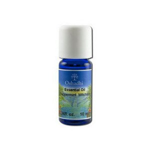Oshadhi Essential Oil Singles Peppermint Mitcham, 0.33 OZ