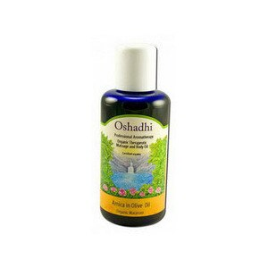 Oshadhi Carrier Oils Organic Macerate - Arnica In Olive Oil, 3.38 OZ