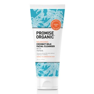 Promise Organic Nourishing Coconut Milk Face Cleanser With Papaya, 6 OZ