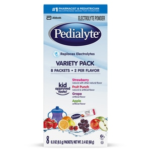 Pedialyte  Electrolyte Powder Variety  0.3 oz, 8CT
