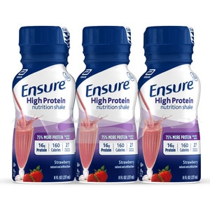 Ensure High Protein Nutrition Shake Ready-to-Drink 8 fl oz, 6CT