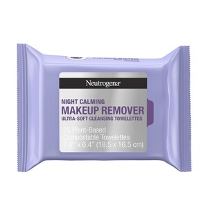 Neutrogena Makeup Remover Cleansing Towelettes Night Calming, 25/Pack