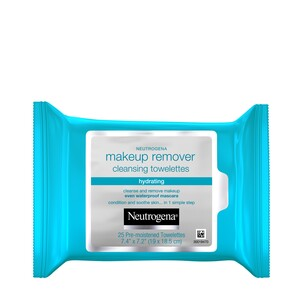 Neutrogena Hydrating Makeup Remover Cleansing Towelettes, 25/Pack