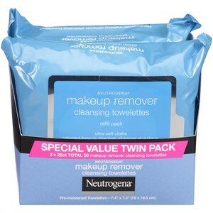 Neutrogena Makeup Remover Cleansing Towelettes Twin Pack