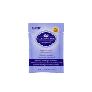 HASK Blue Chamomile with Argan Blonde Deep Conditioner Packet