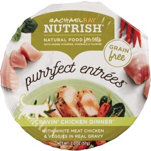 Rachael Ray Nutrish Purrfect Entrees Natural Food For Cats, 2 OZ