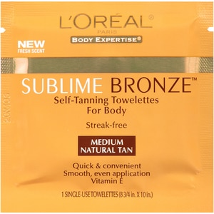 L'oreal Sublime Bronze Self-Tanning Towelettes Medium