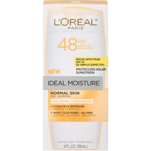 L'Oreal Ideal Normal Skin Day Lotion SPF 25, 4 OZ