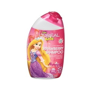 L'Oreal Paris Kids Disney Princess Extra Gentle 2-in-1 Royal Strawberry Shampoo 9 OZ, 6CT