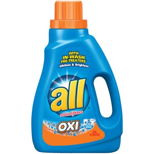 All 2x Ultra Oxi-Active Stainlifters High Efficiency Detergent Waterfall Clean