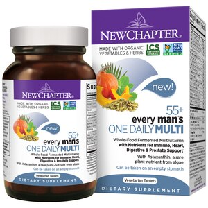 New Chapter Every Man's One Daily 55+, 24CT