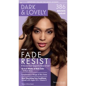 Dark And Lovely Permanent Hair Color 386 Brown Sugar