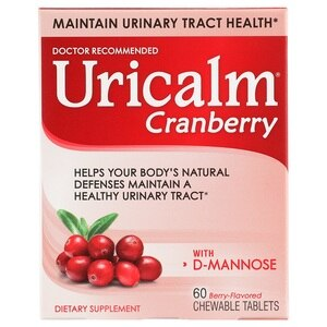 Uricalm Cranberry Daily Dietary Supplement Chewable Tablets, 60 CT