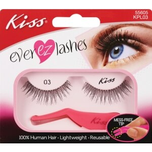 Kiss Eyelashes with Applicator Strings Premium 03
