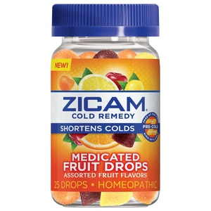 Zicam Medicated Fruit Drops 25ct With Photos Prices