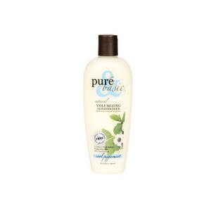 Pure and Basic Natural Volumizing Conditioner Cool Peppermint,  2 OZ