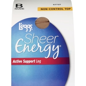 L'eggs Active Support Pantyhose B Nude