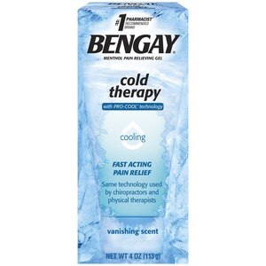Bengay Cold Therapy Pain Relieving Gel Vanishing Scent