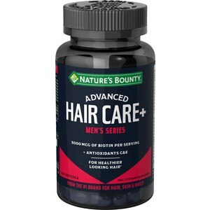 Nature's Bounty Advanced Men's Series Hair Softgels, 120 CT