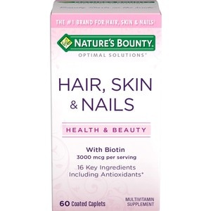 Nature's Bounty Optimal Solutions Hair, Skin and Nails Tablets, 60CT